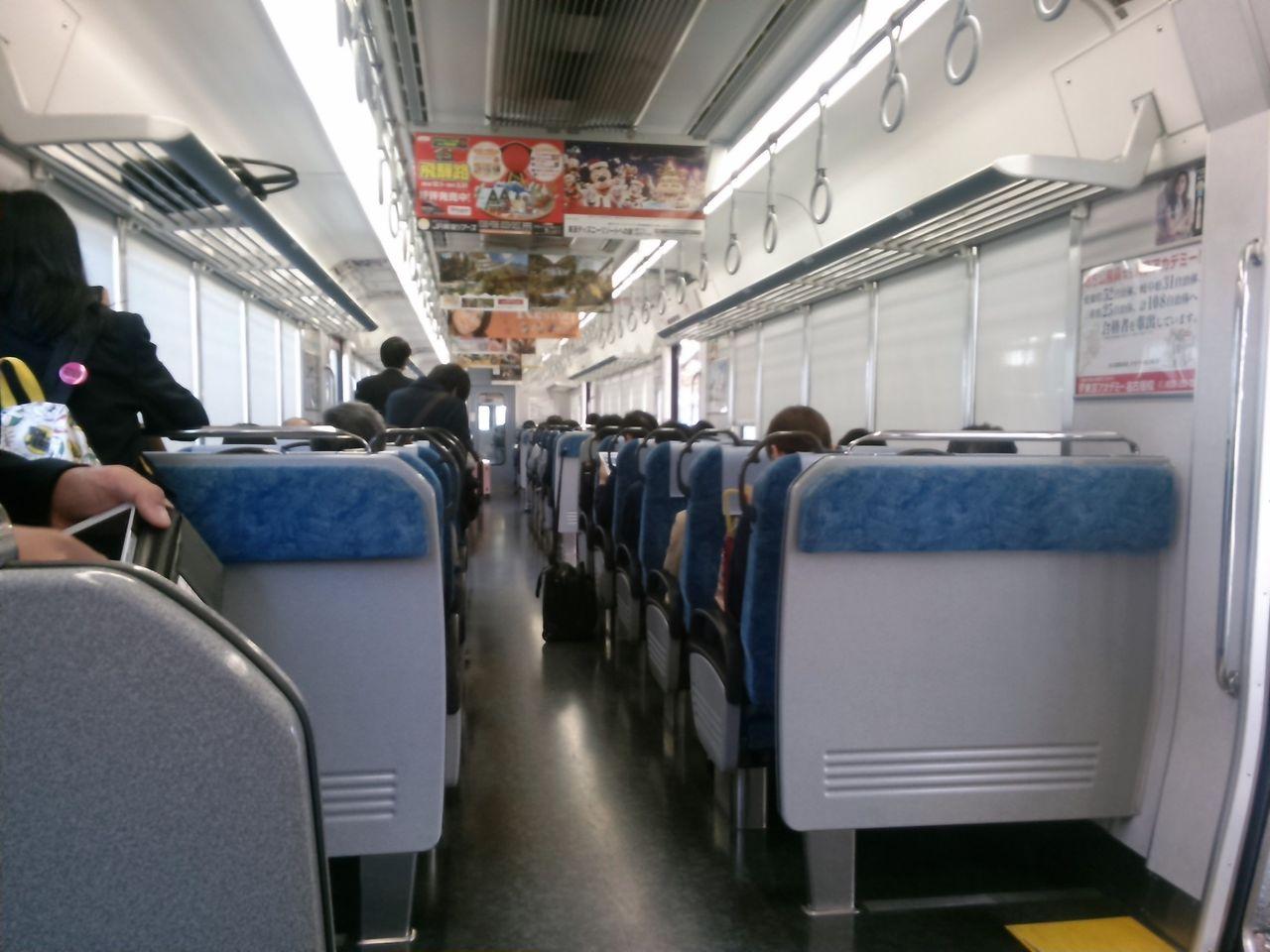 東海道本線 朝ラッシュ時大垣・名古屋間の通勤混雑狀況報告 ...