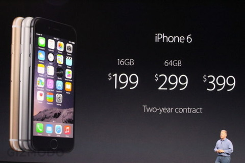 iPhone6Plusの価格