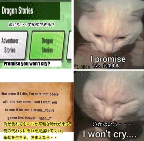泣かないよ
