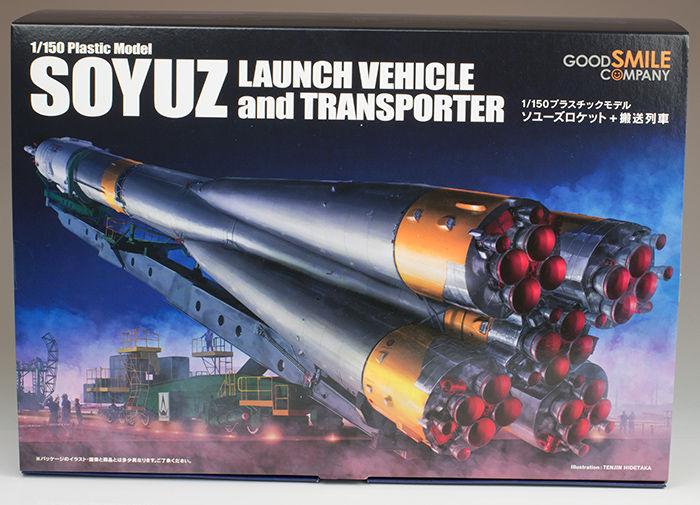 グッドスマイルカンパニー ソユーズロケット+搬送列車