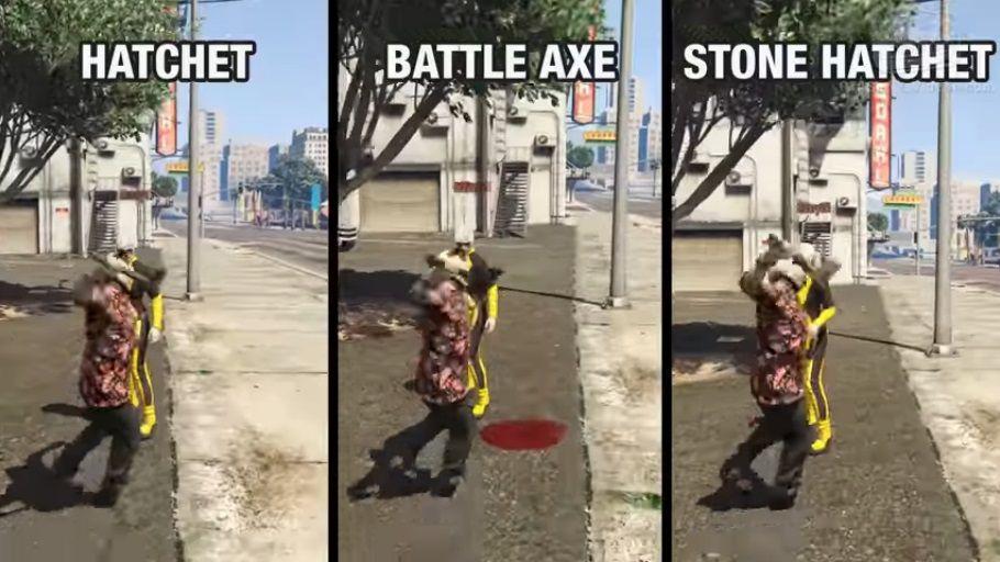 【GTA5】「石斧」は間違いなく最強の近接武器だ!『ランページ ...