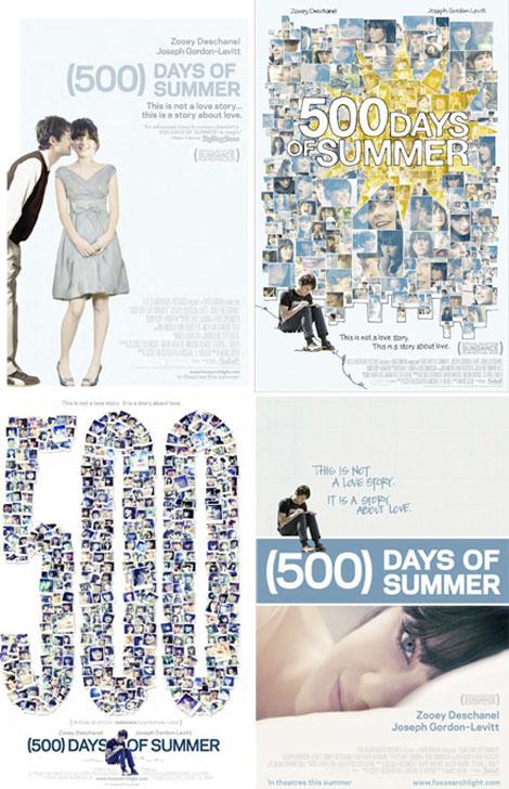 (500)日のサマー-ポスター