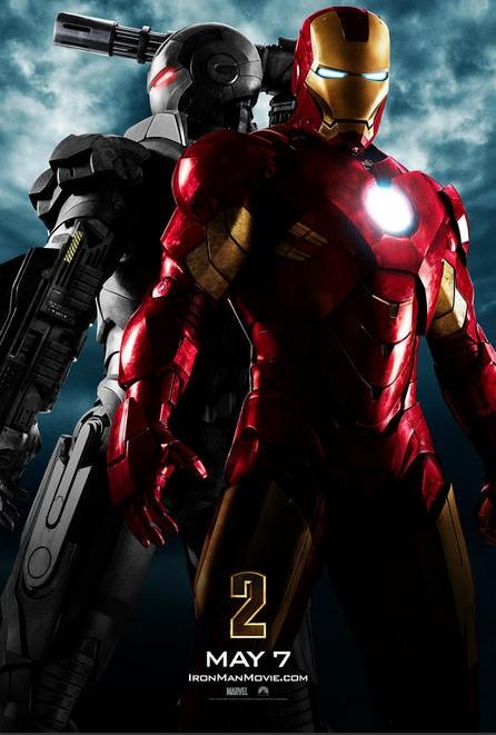アイアンマン2-ポスター