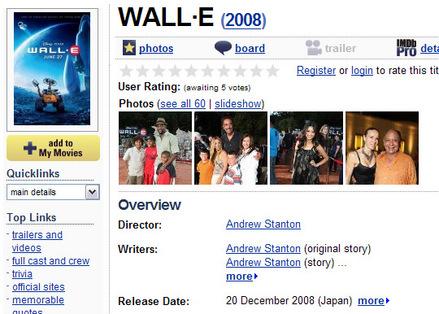 WALL・E-IMDB