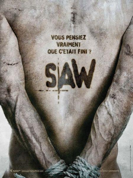 SAW-ソウ5-フレンチ・ポスター