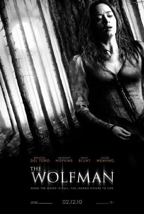 ウルフマン-エミリー・ブラント-ポスター