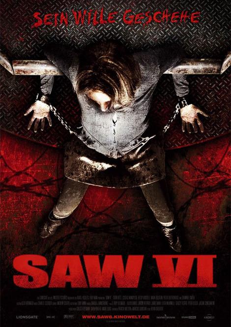 SAW6-ジャーマン・ポスター