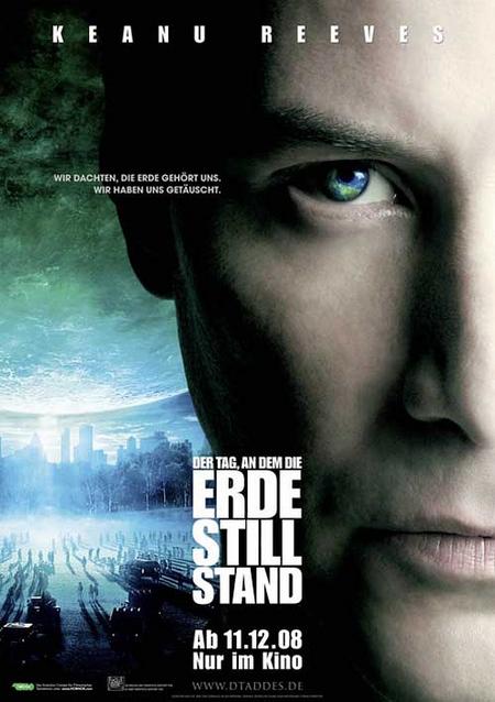 地球が静止する日-ドイツ版ポスター