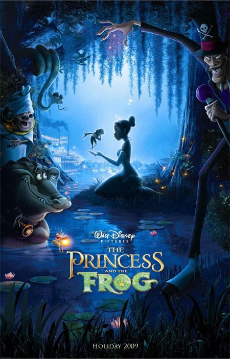 ディズニー--プリンセス・アンド・フロッグ-ポスター