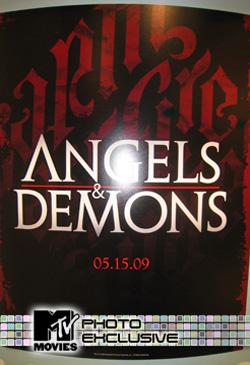 天使と悪魔-ポスター
