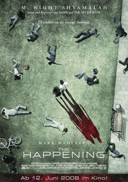 M・ナイト・シャマラン-ハプニング-ドイツ版ポスター