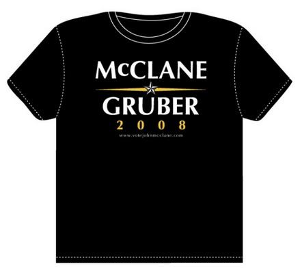 ダイ・ハード-アメリカ大統領-ブルース・ウィリス-Tシャツ
