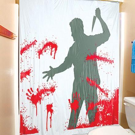サイコのシャワーカーテン