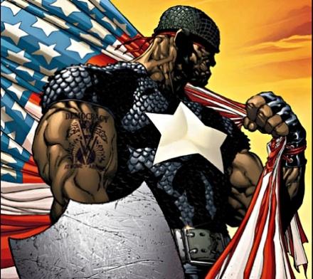 キャプテン・アメリカ-イザイア・ブラッドリー