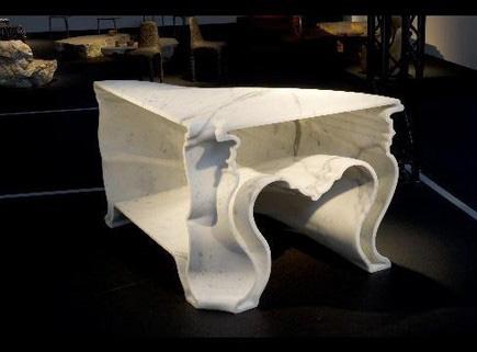 ブラッド・ピットのテーブル
