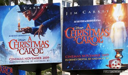 カンヌ映画祭-ジム・キャリー-クリスマス・キャロル