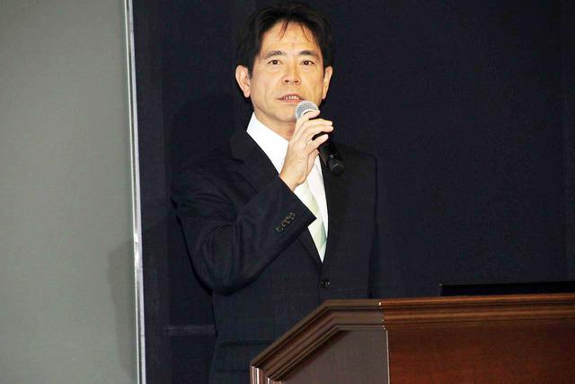 スカパーJSAT株式会社執行役員メディア事業部門コンテンツ事業本部長手塚久氏