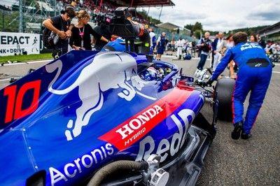 ガスリー、ベルギーGPでホンダPUの向上を実感「ザウバー・フェラーリを抑え切ったことからも進歩は明らか」