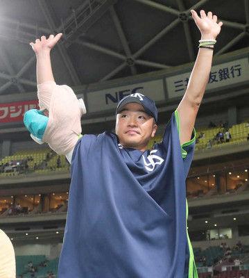 ヤクルト・近藤、17年目の初タイトル獲得へ「これからも進められるように」
