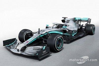 メルセデスF1、新車W10を公開。ダブルタイトル6連覇へ……最強時代は続くのか?