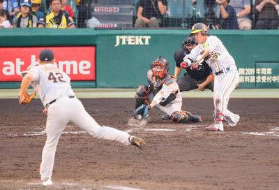 阪神-巨人は投手戦…延長12回0-0で引き分け