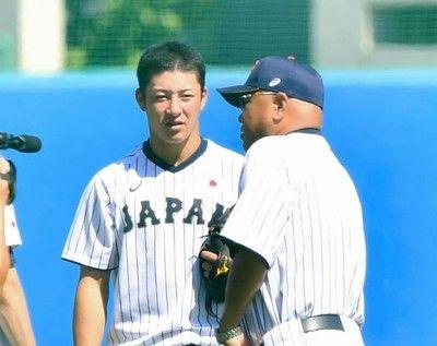 U18高校日本代表初実戦で初勝利大阪桐蔭・根尾、柿木も登板