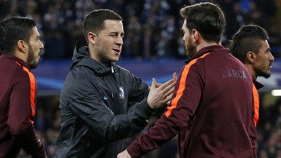 アザール、サッカー史上最高の選手の名前を挙げる 「GOATはただ一人! それは…」