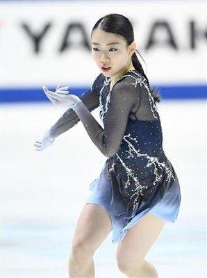 紀平「自分の演技に悔いはない」3回転半2発成功は「靴も守ってくれた」/フィギュア