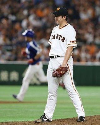 菅野、手痛い2発=プロ野球・巨人