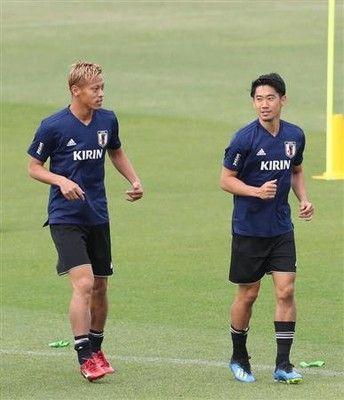 あすガーナ戦、背番号10は香川にサッカー日本代表