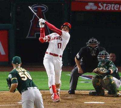 大谷、今季4度目の猛打賞!3打数3安打2打点の大活躍自身初の2桁盗塁も達成