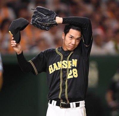 阪神・小野4回6安打4失点で降板