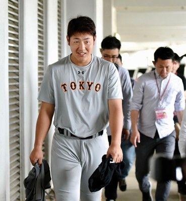 巨人岡本、キャッチボールを回避して別メニュー調整前日は猛打賞