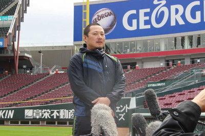 広島・松山が残留表明新井さんから助言「絶対に残った方がいい」