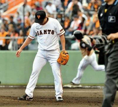 巨人・沢村、不安解消ならず…1回1安打1失点2四球