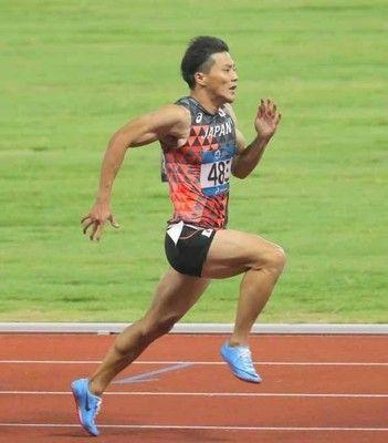 山県亮太、10秒00で銅メダル「9秒台出されて負けたのは残念」