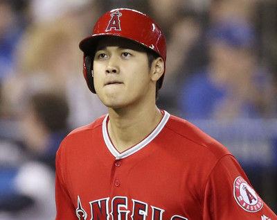 エンゼルス・大谷翔平、弾丸二塁打を放った後に首をかしげた理由