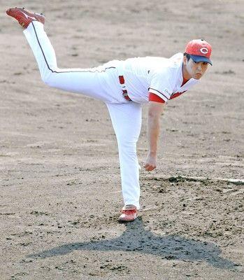 広島・矢崎は2回完全投球最速も148キロと仕上がり上々「手応えになる」