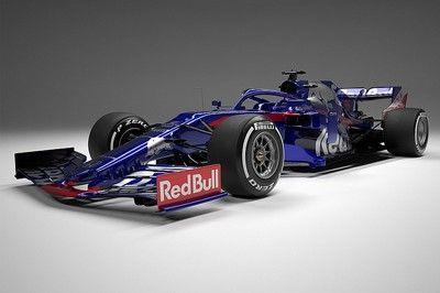 【F1新車発表】トロロッソ・ホンダ、2019年用ニューマシンSTR14を発表