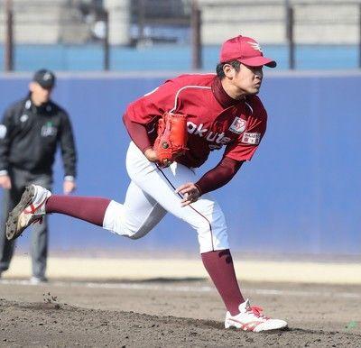 楽天2年目左腕・鶴田と来季の支配下選手契約せず戦力外は異例の計17人目