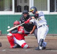 【阪神】江越、広島との練習試合で右中間へ弾丸ソロ