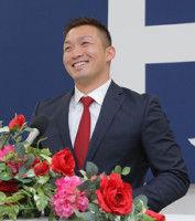 【広島】誠也が1・7億円でサイン「もっとふざけたい」
