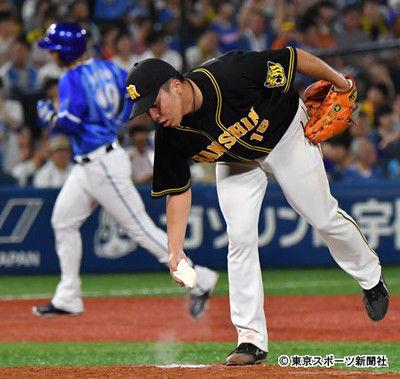 阪神・馬場4失点KO金本監督「光るものが見えない」と二軍降格を示唆