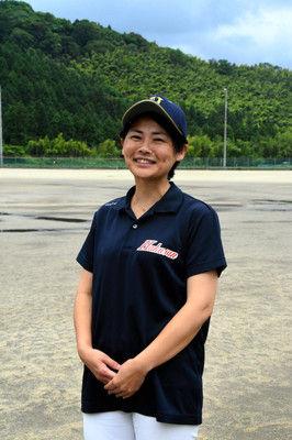 白山の部長は元野球少女「まさか甲子園へ」強化に献身