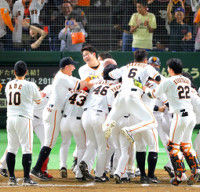 【巨人】菅野完封に小林「さすが」歴史的、異次元のチーム20完投15完封