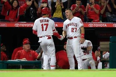 【MLB】トラウトが力強く太鼓判「オオタニは新人王だ!」ファンも感嘆「ヤバすぎる」