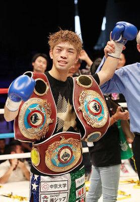田中恒成、プロ12戦目の世界最速3階級制覇