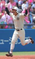 【西東京】日大三、劇的サヨナラ2ランで5年ぶり出場、小倉監督涙「選手が頑張ってくれた結果」
