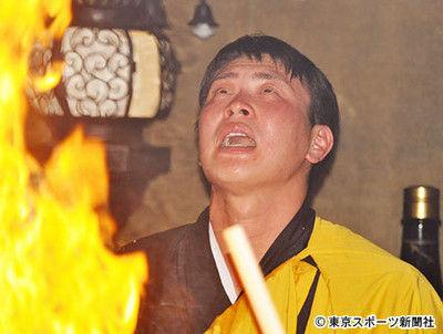 """広島・堂林炎の護摩行で""""一皮むけた"""""""
