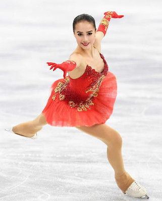 ザギトワ完璧な演技でV、女子世界新238・43点